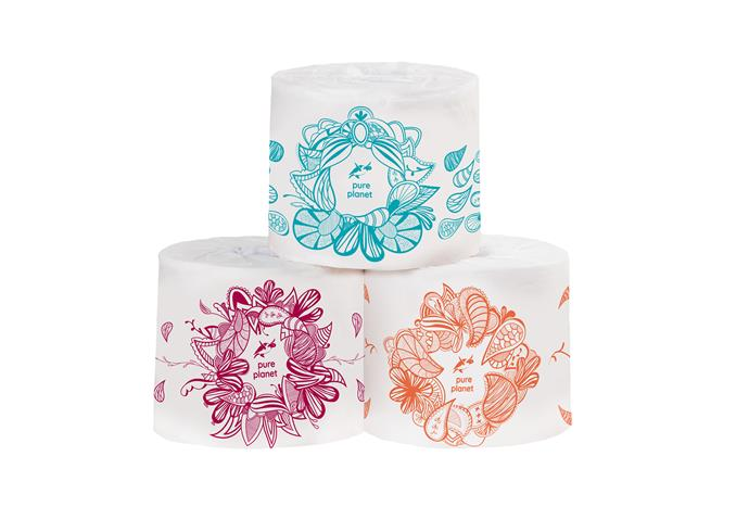 """Pure Planet toilet paper, $48.00/36 pack, at [Pure Planet](https://pureplanet.com.au/