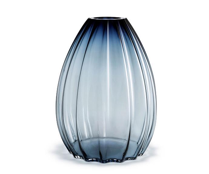 "Maria Karlis for Holmegaard '2lips' vase in Blue, $898, [Top3 by Design](https://top3.com.au/|target=""_blank""|rel=""nofollow"")."