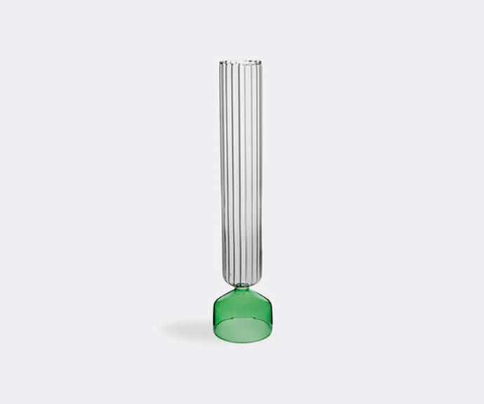 "Bouquet vase in Green + Optic, $165, [Jardan](https://www.jardan.com.au/|target=""_blank""|rel=""nofollow"")."