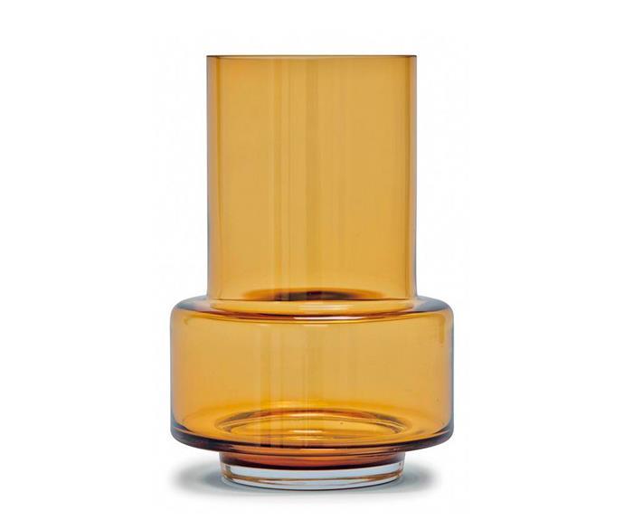 "Hurricane vase by Rebecca Uth, $135, [Huset](https://www.huset.com.au/|target=""_blank""|rel=""nofollow"")."