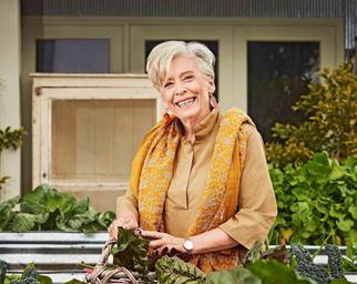 Maggie Beer in her kitchen garden