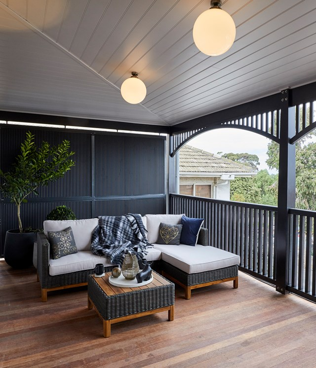 "**Week 11, Verandahs** Jesse stated at the start of the week that he didn't want to waste money on the [verandahs](https://www.homestolove.com.au/the-block-2019-verandahs-20772|target=""_blank"") because ""verandahs don't sell houses"" and he stuck to his guns. ""We just did what was necessary,"" Jesse admitted. They kept it simple with a comfortable outdoor setting and some potted citrus but it wasn't enough to impress the judges."