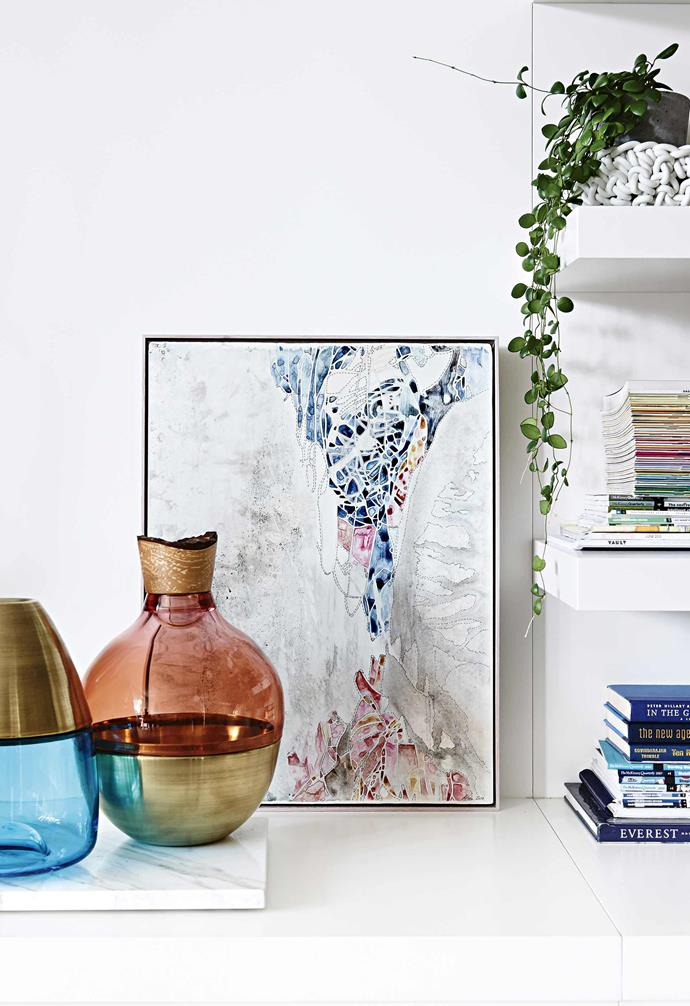 Curating your displays means more space for beloved pieces to shine.
