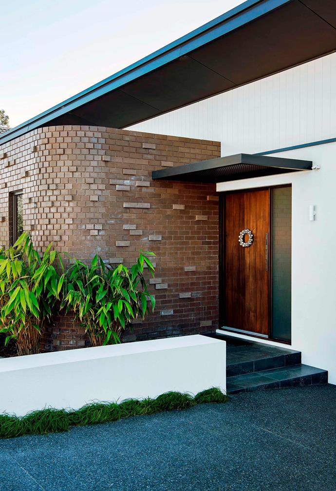 """Focusing on materiality and raw textures was key in the creation of this [Palm Springs-style home in Perth](https://www.homestolove.com.au/palm-springs-architecture-19509