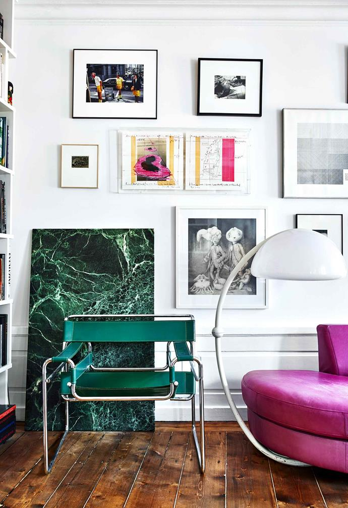 """**Living room** This side of the [living room](https://www.homestolove.com.au/20-best-open-plan-living-designs-17877
