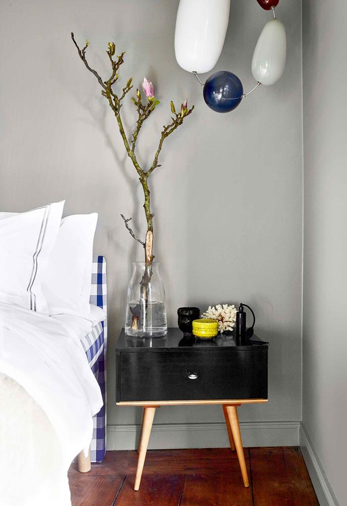 **Master bedroom** Packing a punch with the past and present, this chic apartment is the ultimate clash of high and low.