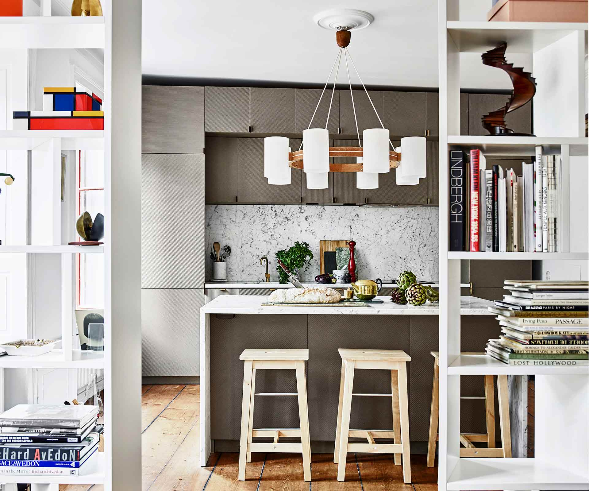 A creative apartment in Stockholm filled with eclectic charm