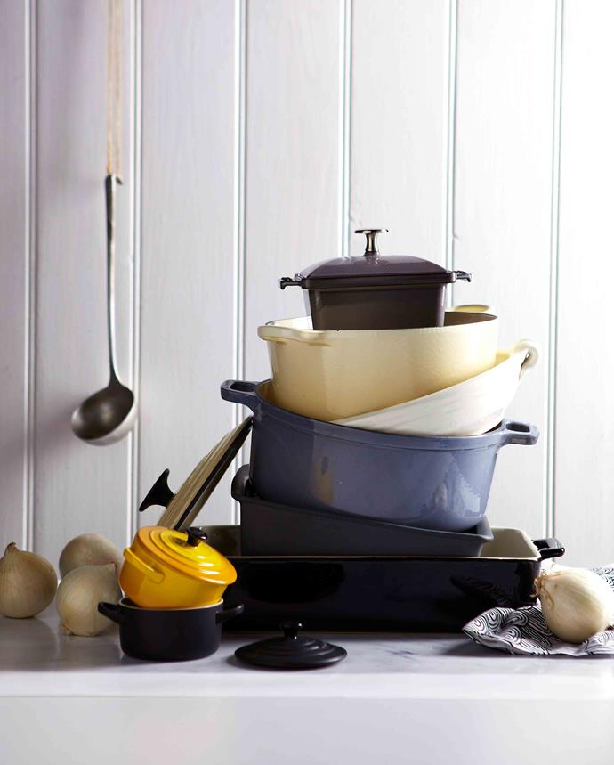 Cast iron cookware is virtually indestructible, which makes it an excellent garage sale find.
