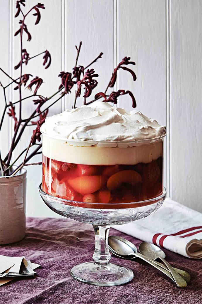 """Winnifred's secret to the perfect trifle is """"plenty of sherry."""""""