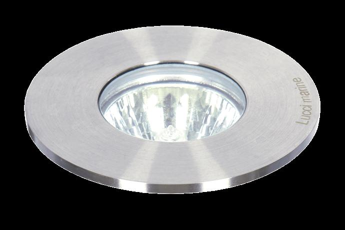 "Lucci 'Marine' in-ground light, $149, [Beacon Lighting](https://www.beaconlighting.com.au/|target=""_blank""|rel=""nofollow"")."