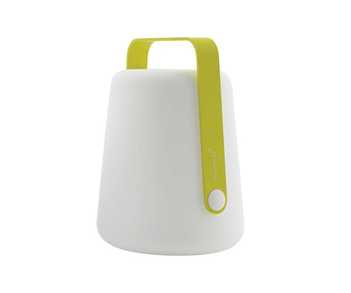 "Fermob 'Balad' lamp, from $400, [Design Nation](https://designnation.com.au/|target=""_blank""|rel=""nofollow"")."