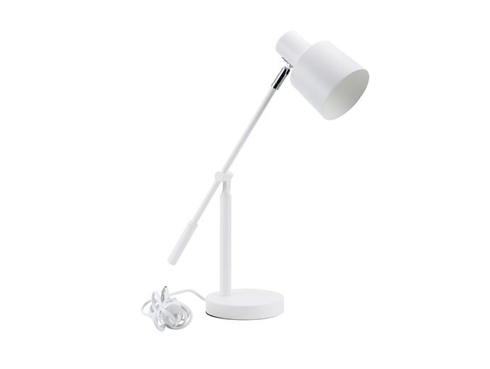 "Cantilever Desk Lamp in white, $15, at [Kmart](https://www.kmart.com.au/product/cantilever-desk-lamp---white/2470365|target=""_blank""