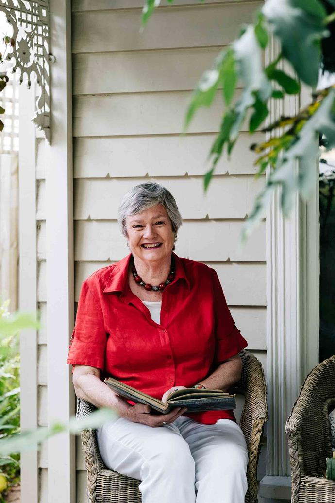 "TV personality Jane Edmanson grew up on a fruit farm in Mildura. ""Every time I smell orange blossom, I just go straight back to Mildura,"" she says."