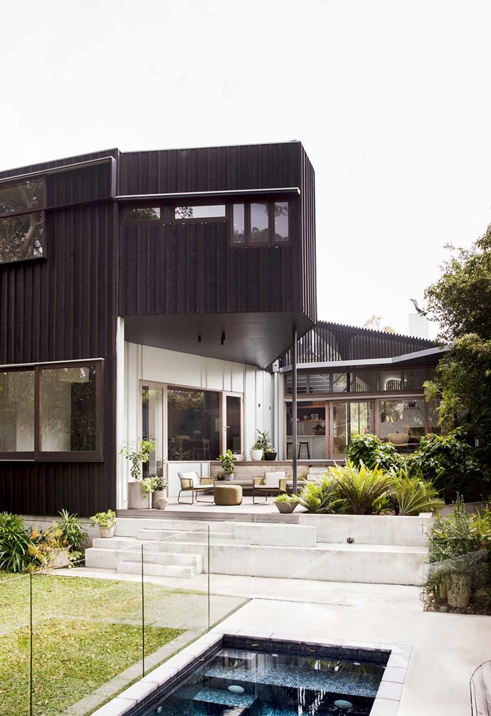"Given the size of this [nature-inspired home in Riverview](https://www.homestolove.com.au/nature-inspired-house-riverview-20198|target=""_blank""), it was imperative for the homeowners that the compact pool could be easily seen from within the house at multiple points."