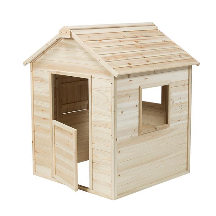 "[Swing Slide Climb Hut Cubby House](https://www.bunnings.com.au/swing-slide-climb-95-x-95-x-130cm-tee-pee-tent_p0116729|target=""_blank""|rel=""nofollow""), $199."