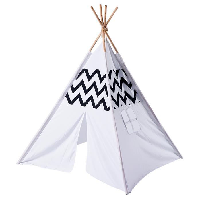 "[Teepee tent](https://www.bunnings.com.au/swing-slide-climb-95-x-95-x-130cm-tee-pee-tent_p0116729|target=""_blank""|rel=""nofollow""), $24.90."