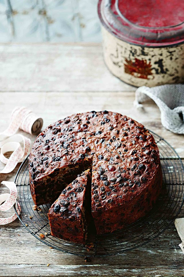 """Since her father passed away at the age of 84, Paula has been making his Christmas cake recipe with her granddaughters, Matilda and Olivia. """"They always enjoy cooking with me and it's a nice way for them to remember Pa Jim,"""" she says."""