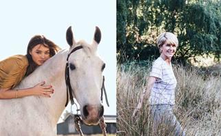 Miranda Kerr and Julie Bishop