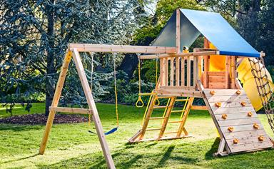 Bunnings has released a $199 cubby house to rival Kmart