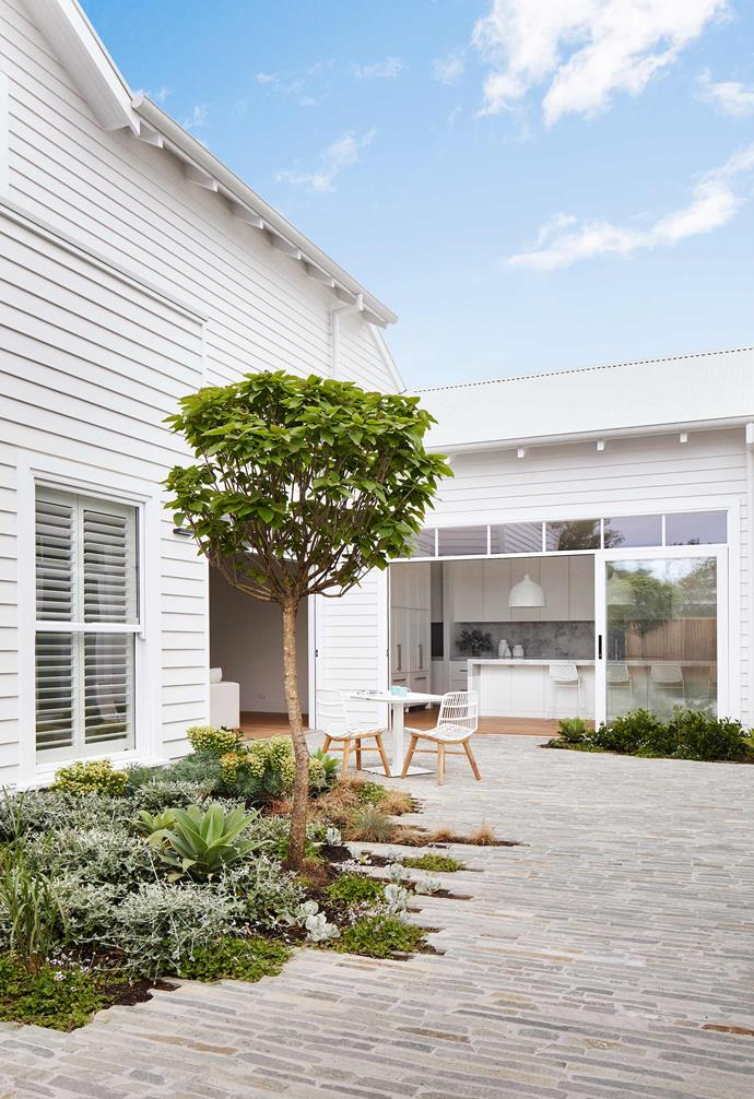 "**Home** It's not too much of a stretch to refer to the Mornington Peninsula as Melbourne's equivalent of New York's famous Hamptons. So the owners of this weatherboard home, designed by local experts [Little Brick Studio](https://www.littlebrickstudio.com.au/|target=""_blank""