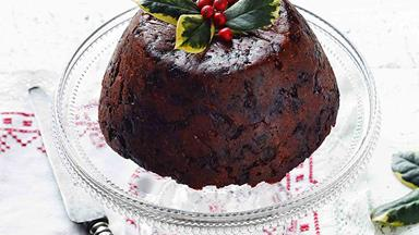A grandma's traditional Christmas pudding recipe