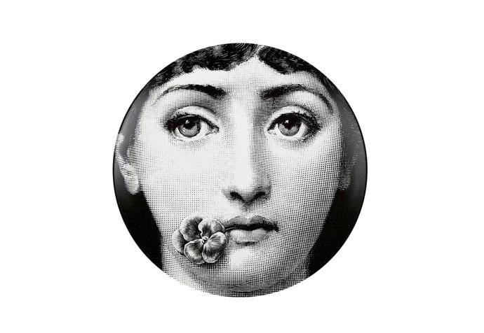 """Tema e Varazioni No.137 **wall plate** by Piero Fornasetti, $243, at [Macleay on Manning](http://www.macleayonmanning.com/