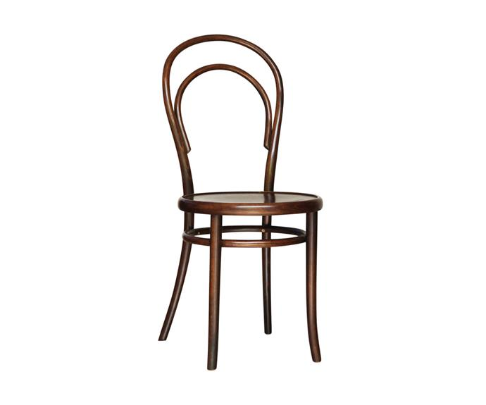 """No.14 Vienna **dining chair**, from $244.20, at [Thonet](https://thonet.com.au/products/no-14-vienna/