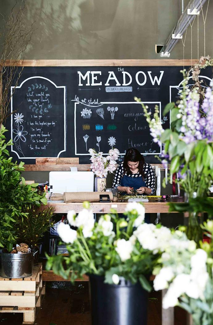 The Meadow Dubbo is a flourishing floristry business.