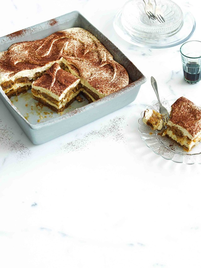 "<p>**GLUTEN FREE TIRAMISU**<P> <p>Want to make Christmas a little more inclusive? Whip up a batch of gluten-free tiramisu! A slice of this is the perfect pick-me-up after a hearty Christmas feast. <p> <P>*Get the full [gluten free tiramisu recipe](https://www.homestolove.com.au/gluten-free-tiramisu-8241|target=""_blank"").*<p>"