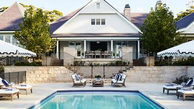 A Hamptons-style house inspired by a Hollywood film