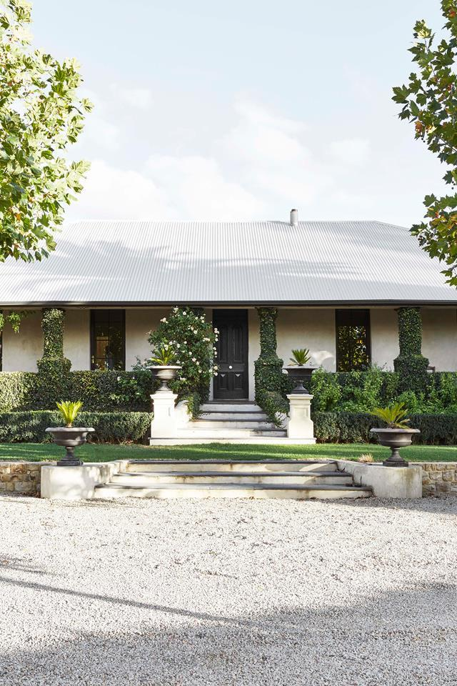 "Just like its Adelaide Hills location which is perfect for grape growing and wine-making with its dry summers and consistent winter rainfall, this [rebooted historic homestead](https://www.homestolove.com.au/historic-homestead-restoration-south-australia-19525|target=""_blank"") is designed for the seasons. During the renovation process, the owners decided to retain the home's classic facade."