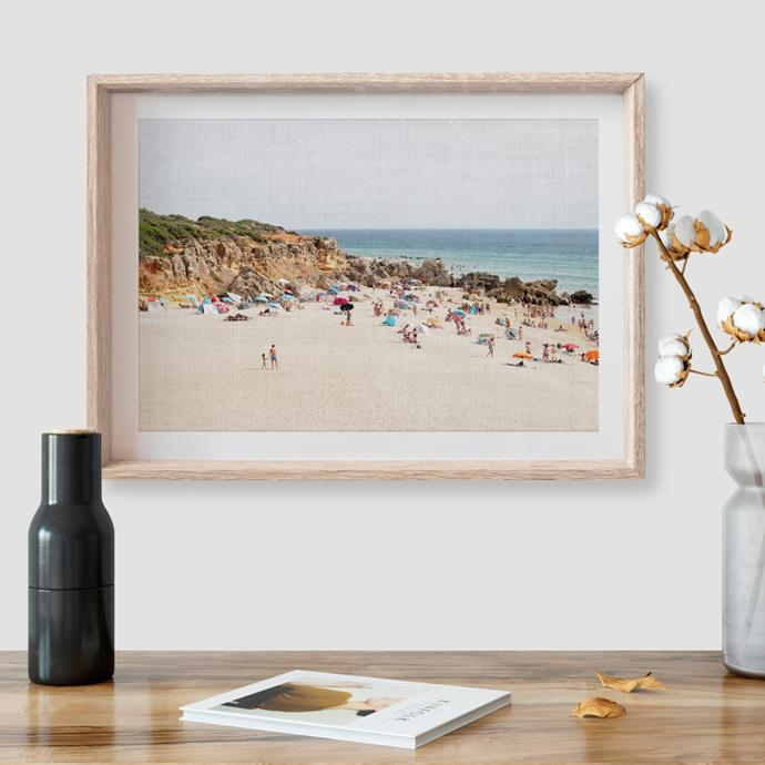 "Mon Manabu [The Beach print](https://www.thefinderskeepersmarketplace.com/shop-directory/mon-manabu/products/the-beach-print|target=""_blank""