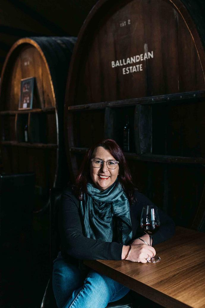 Leeanne Gangemi is the customer relations manager for Ballandean Estate.