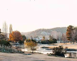 View of waterway in Stanthorpe, QLD