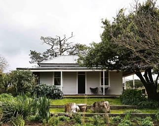 Timber farmhouse exterior