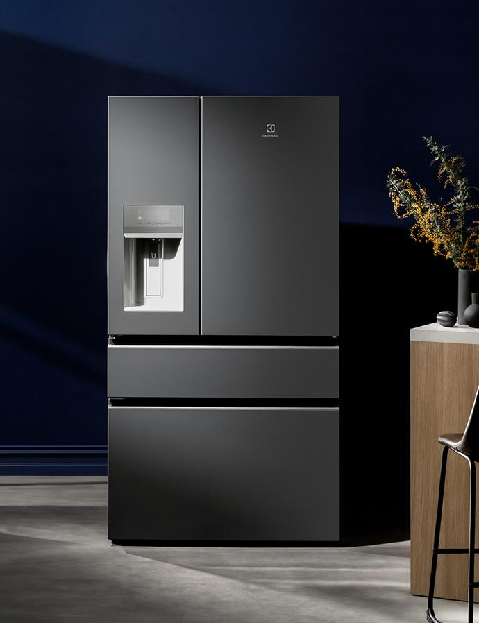 A streamlined creation that's as fashionable as it is functional, the Electrolux 681L Stainless Steel French Door Fridge delivers on all fronts. *$3,295 at Harvey Norman*