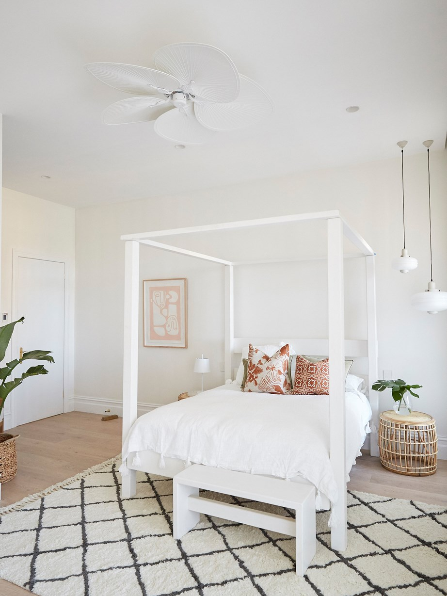 "**Week 1, Guest Bedroom** Andy and Deb's spirits fell in week one when they failed to deliver [the first room of the season](https://www.homestolove.com.au/the-block-2019-guest-bedroom-reveal-20531|target=""_blank""). When the redo room challenge rolled around, Andy and Deb got a second chance to finish this guest bedroom, turning it into a ""a more confident, polished and grown-up version of this previous space,"" in Neale's words."