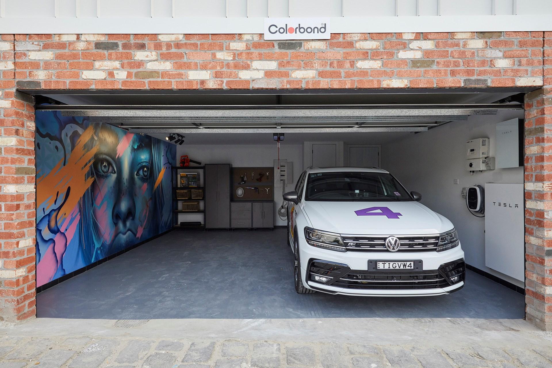 the block 2019  terrace  redo room and garage reveals