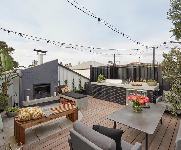 The Block terrace