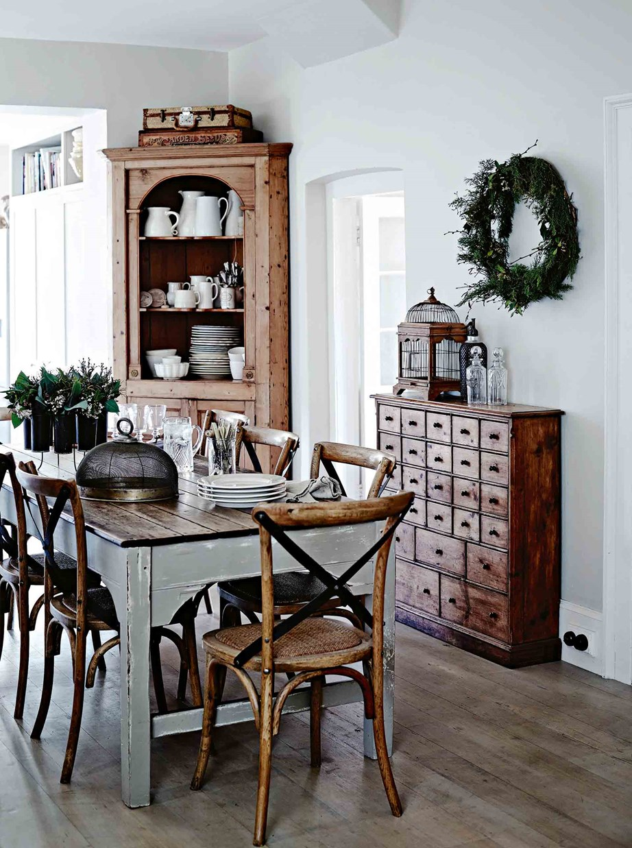 "A Georgian-style home on the hillside in East Launceston has been treated to a [French-provincial](https://www.homestolove.com.au/french-provincial-farmhouse-12169|target=""_blank"") makeover. Furnished with pieces the homeowner has collected from childhood, as well as European [country style furniture](https://www.homestolove.com.au/country-style-furniture-13331
