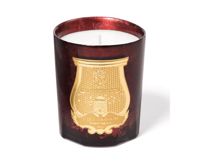"Cire Trudon 'Nazareth' candle, $140/270g, from [Agence de Parfum](http://www.agencedeparfum.com.au/|target=""_blank""