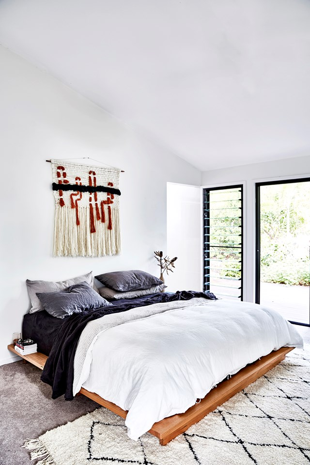 **2019 – NORDIC NEST** <br><br> The Scandi influence was still strong, but it moved into a more earthy ethnic direction to include textures like macramé wall hangings, crushed linen bedspreads and cow hide rugs. Monochromatic accents with Aztec prints and lots of layering were the big trend. Scandi furniture lines were still popular, but in darker walnut and black tones instead of the light oak we had seen in previous years.
