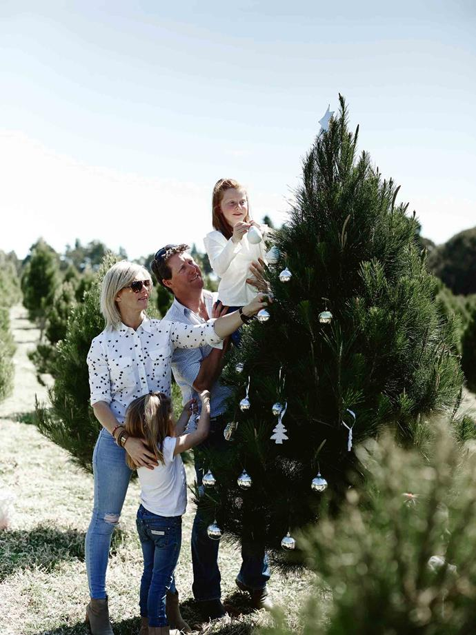 """We get lots of really nice feedback,"" says Louisa. ""And people love to email photos of their [decorated tree](https://www.homestolove.com.au/4-christmas-tree-decorating-styles-4397