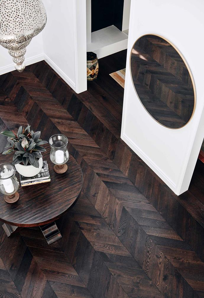 **Playful parquetry** Parquetry flooring can be both time and cost efficient to lay, with stunning results.