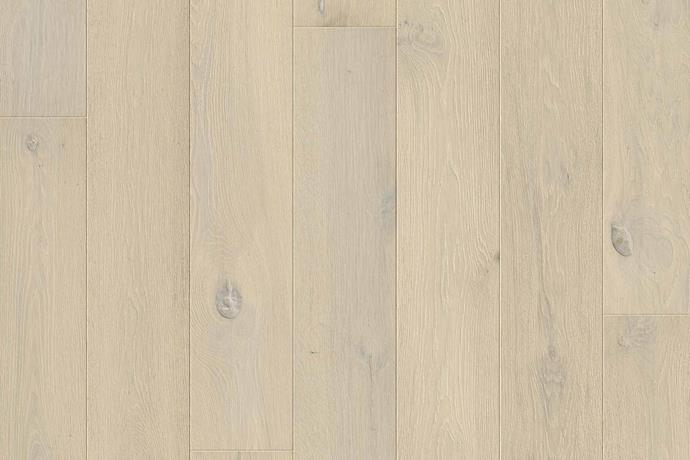 "Palazzo engineered flooring in Frozen Oak Extra Matt, [Quick-Step](https://www.quick-step.com.au/|target=""_blank""|rel=""nofollow"")."