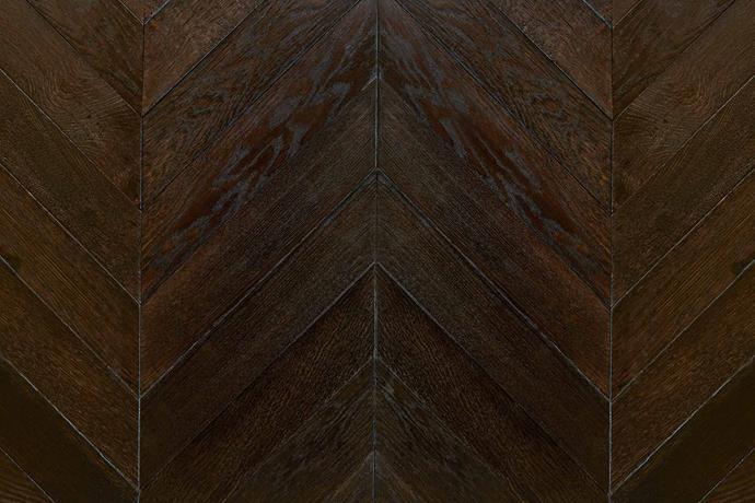 "European oak solid block parquetry in Black Japan, [We Love Parquet](https://weloveparquet.com.au/|target=""_blank""|rel=""nofollow"")."