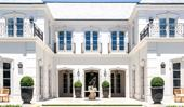 A grand Toorak home modelled after classical French architecture