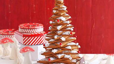 How to make a gingerbread Christmas tree