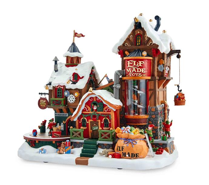 Lemax Christmas **musical village**, $99.99.