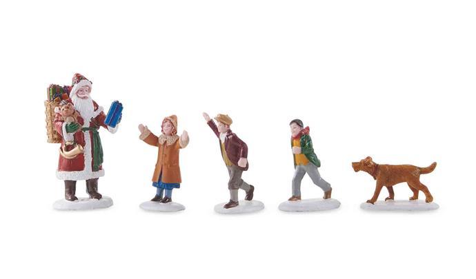 Lemax Christmas **figurines**, $7.99.